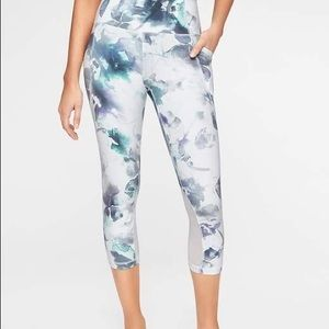 Athleta Floral Mudra Leggings
